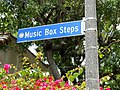 Music Box steps, Descanso Dr, Silver Lake, Los Angeles.JPG