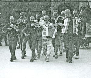 Todesfuge - Concentration camp Mauthausen, 30 June 1942: an orchestra of inmates