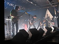 My Morning Jacket bei einem Auftritt in Dallas, Texas, 2006