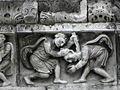 Nîmes (30) Cathédrale Frise 05.JPG