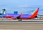 N285WN Southwest Airlines 2007 Boeing 737-7H4 C-N 32536 (6518193341).jpg