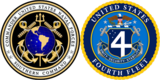 U.S. Naval Forces Southern Command / U.S. 4th Fleet official logos