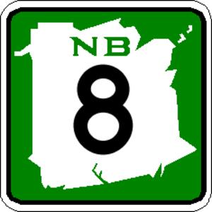 New Brunswick Route 10 - Image: NB 8