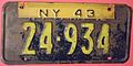 NEW YORK 1943 -FARM TRUCK LICENSE PLATE - Flickr - woody1778a.jpg