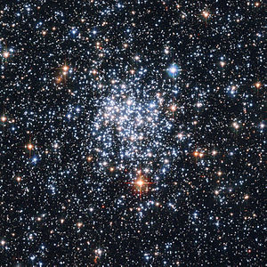 Open cluster - NGC 265, an open star cluster in the Small Magellanic Cloud