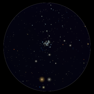NGC 6231 al telescopio 114mm