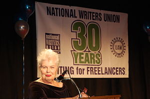 National Writers Union - Susan E. Davis speaking at the National Writers Union