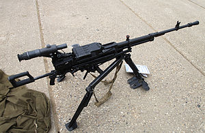 NSV machine gun - NSV heavy machine gun
