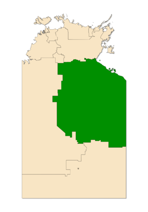 Electoral division of Barkly - Barkly in the Northern Territory
