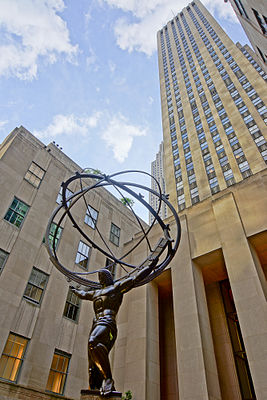 NYC - Rockfeller Center - Atlas Statue.JPG
