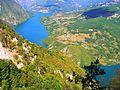 Nacionalni park Tara; Pogled na Drinu sa vidikovca Banjska stena 04. jpg.JPG