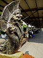 Naga Sculpture Si Sa Ket railway station - panoramio.jpg