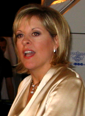 "Nancy Grace - Grace at her book party for her new book ""Objection!"", at the Bryant Park Grill, NYC, 2005"