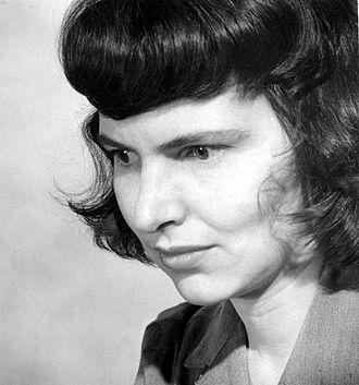 Nancy Newhall - Nancy Newhall 1942, photo by Barbara Morgan.