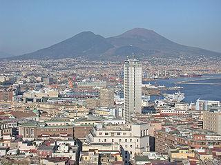 Napoli, panorama del centro storico