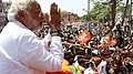 Narendra Modi at a rally in Varanasi on 7 May 2014.jpg