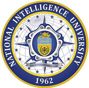 National Intelligence University - Image: National Intelligence University Logo