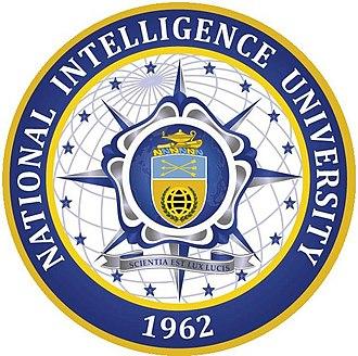 National Intelligence University - Image: National Intelligence University Logo