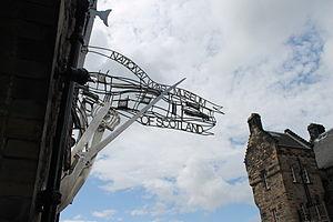 National War Museum - Entrance Signage