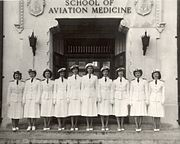 Navy flight nurses -- 1940sa
