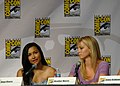 Naya Rivera & Heather Morris (4852305403).jpg