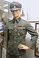 Nazi German Waffen-SS uniform, visor skull (Totenkopf) cap, Hauptsturmführer, Regiment Nordland, etc. Lofoten Krigsminnemuseum, Norway 2019-05-08 DSC09938.jpg