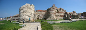 Mesembria - Fortifications at the entrance of Nesebar