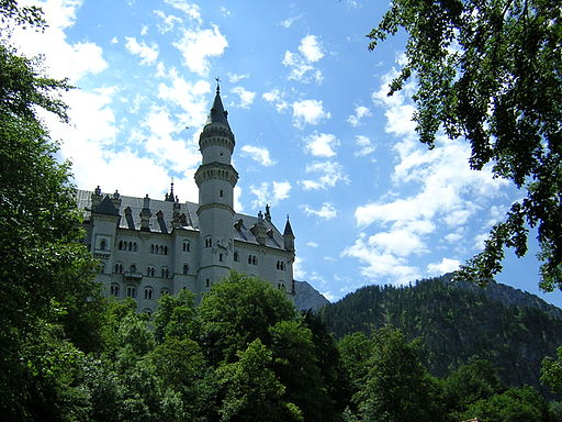 Neuschwanstein by Will Bailey