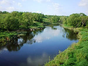 Nevėžis (river) - The river in Kėdainiai district municipality