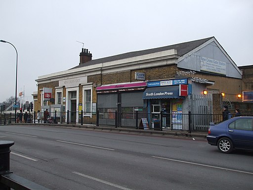 New Cross Gate stn building