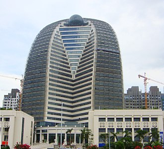 Hainan Airlines - HNA Building, headquarters in Haikou