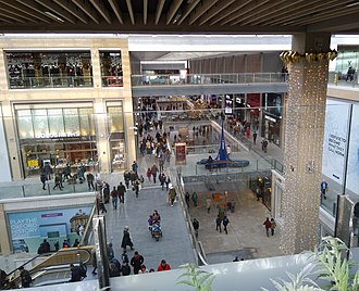 Westgate, Oxford - Inside view of the new Westgate Oxford shopping centre