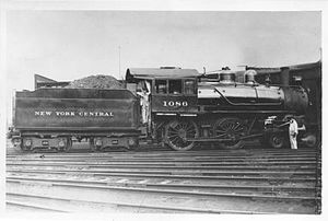 New York Central and Hudson River Railroad No. 999 - Image: New York Central Locomotive 1086