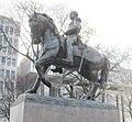 New York State Capitol, Sheridan equestrian statue, Albany, New York.jpg