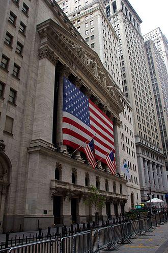 New York Stock Exchange - bor c f uder
