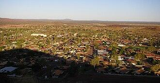 Newman, Western Australia - Newman residential area