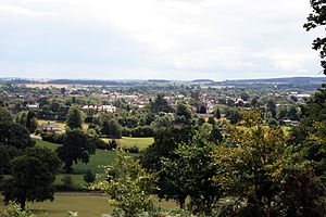 Newport, Shropshire - Image: Newport from cheeny hill