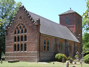 Episcopal Church (United States) - St. Luke's Church, built during the 17th century near Smithfield, Virginia - the oldest Anglican church-building to have survived largely intact in North America.