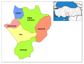 Niğde districts.png