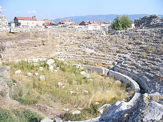 Nicaea - The theatre, restored by Pliny the Younger.