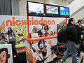 Nickelodeon booth at WonderCon 2010.JPG