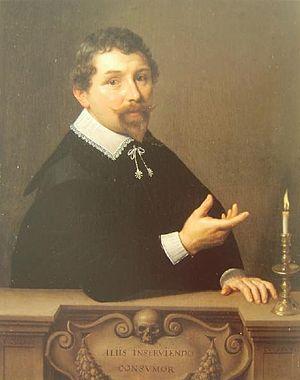 Nicolaes Pickenoy - Dr. Nicolaes Tulp by Nicolaes Eliaszoon Pickenoy  - Stedelijk Museum, Amsterdam