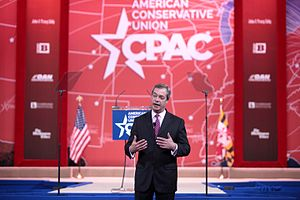 Nigel Farage - Farage speaking at the 2015 Conservative Political Action Conference (CPAC) in Washington, D.C. about the American elections.