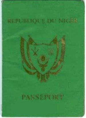 Visa requirements for Nigerien citizens - A Nigerien passport