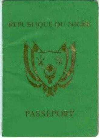 Visa requirements for Nigerien citizens - A Nigerien passport