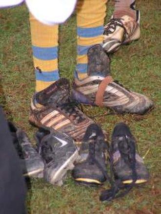 Football boot - Image: Nikalankavoetbalscho en