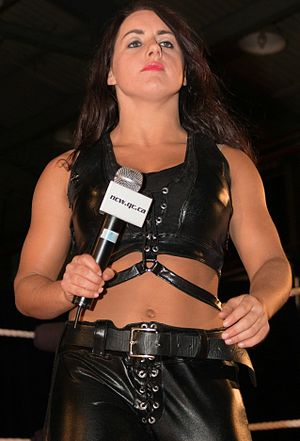 Nikki Cross - Cross as Nikki Storm in April 2014