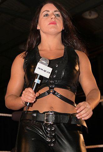 Nikki Cross - Cross as Nikki Storm in April 2014