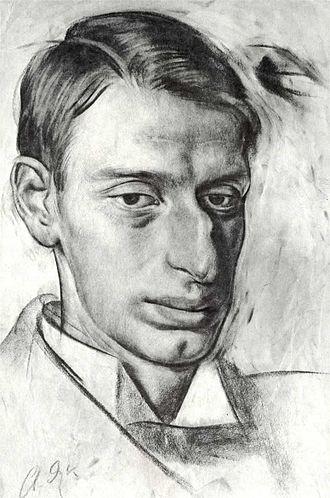 1942 in fine arts of the Soviet Union - Image: Nikolay Radlov by A. Yakovlev (1912)