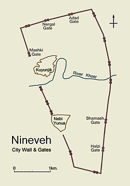 Nineveh map city walls & gates.JPG